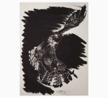 Chinook, Red-tailed Hawk Baby Tee