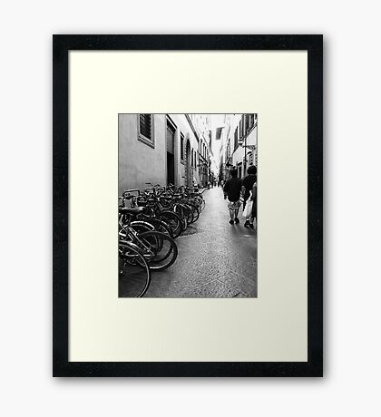 Classic Alleyway Framed Print