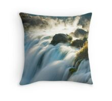 GeoThermal Plunge Throw Pillow