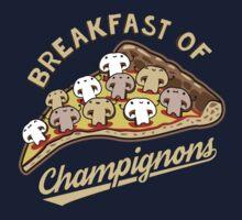 Breakfast of Champignons by David Benton
