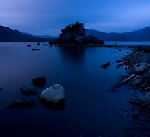 Colleen Bawn Rock, Lakes of Killarney, Ireland. by Teddy  Sugrue