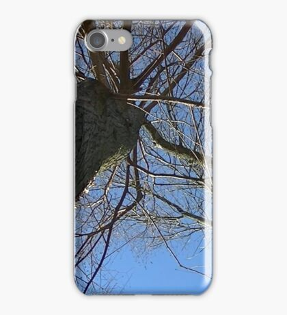 Windy Day - The Blue & The Green 038 iPhone Case/Skin