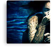 Underwater Tribal Canvas Print
