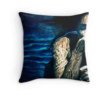 Underwater Tribal Throw Pillow