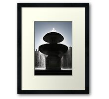 And from the Fountain Sprung the Water of Life Framed Print
