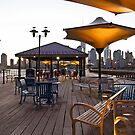 Pier At Exchange Pl. Jersey City NJ by pmarella