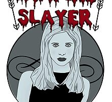 Buffy The Vampire Slayer B&W by paton