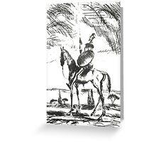 Don Quixote Greeting Card