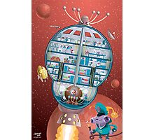Blast off aboard the Starship Ramshackle Photographic Print