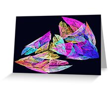 Apophysis Fractal 8 Greeting Card