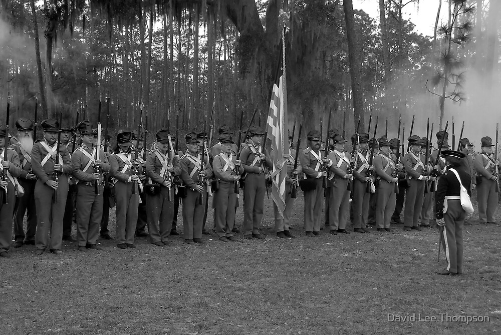 1800s US Army by David Lee Thompson