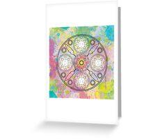 Creativity Mandala Greeting Card