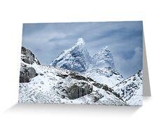 Lofoten Peaks Greeting Card
