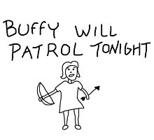 Buffy Will Patrol Tonight by paton