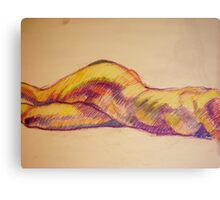 self explanatory ... a figure study Canvas Print