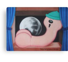 Things that go bump in the night Canvas Print