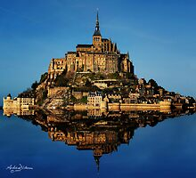 Mont St Michel by Andrew Dickman