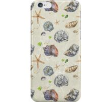 Shells. I love sea! iPhone Case/Skin