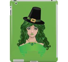 Leprechaun girl 4 iPad Case/Skin