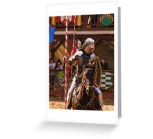 Tournament of Knights Greeting Card