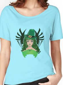Leprechaun girl 5 Women's Relaxed Fit T-Shirt