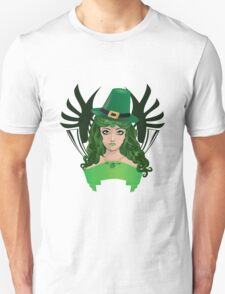 Leprechaun girl 5 Unisex T-Shirt