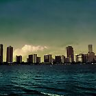 City on Water by James Gonzalez