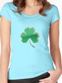 Shamrock or clover 6 Women's Fitted Scoop T-Shirt