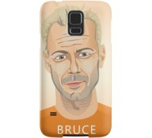 Bruce Willis, Hollywood star in The Fifth Element  Samsung Galaxy Case/Skin