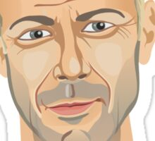 Bruce Willis, Hollywood star in The Fifth Element  Sticker