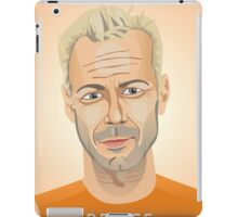 Bruce Willis, Hollywood star in The Fifth Element  iPad Case/Skin