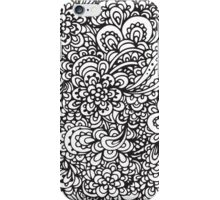 Floral Doodles iPhone Case/Skin