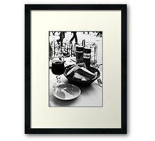 Scenes From An Italian Restaurant Framed Print