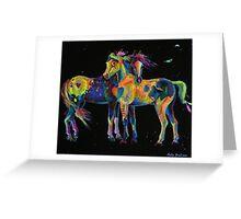 Medicine Ponies Greeting Card
