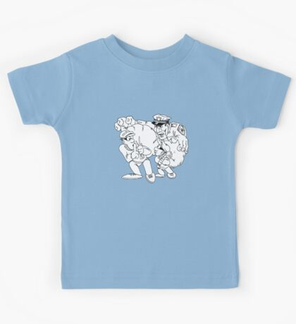 Cops and Robbers Kids Tee