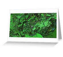 Picture 201506 Justin Beck Matrix of things  Greeting Card
