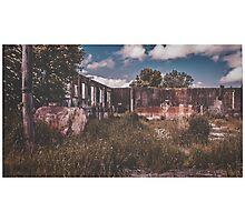 Forgotten Abattoir, Taihape Photographic Print