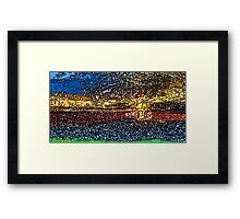 Picture 2015058 Justin Beck Sunset bay Framed Print