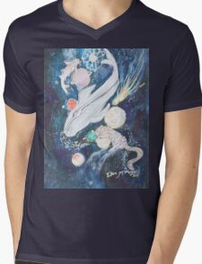 fish out of water  Mens V-Neck T-Shirt