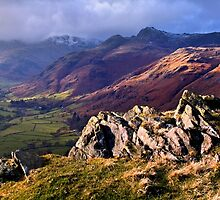 Great Langdale - The Lake District by Dave Lawrance