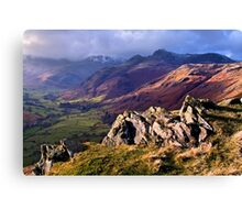 Great Langdale - The Lake District Canvas Print