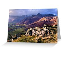 Great Langdale - The Lake District Greeting Card