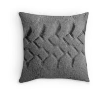 Leave only Foot-Prints Throw Pillow