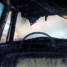 9.3.2015: Abandoned Car by Petri Volanen