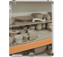 Pottery Studio Shelf iPad Case/Skin