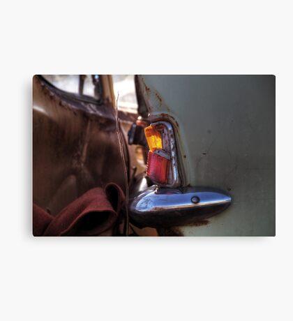 9.3.2015: Broken Taillight Canvas Print