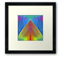 'Tachyon Rain' Framed Print
