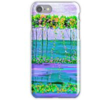 Spring Tree  Reflections Oil Painting iPhone Case/Skin