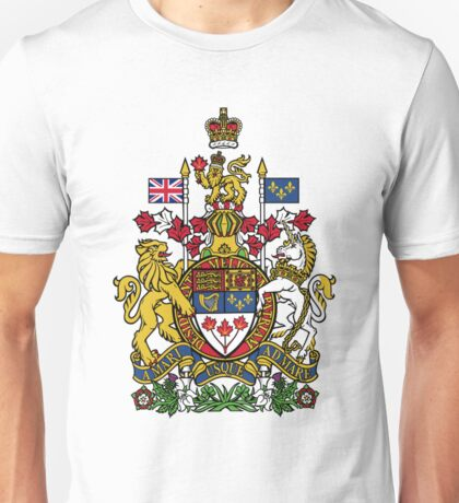 Canada Coat of Arms Unisex T-Shirt