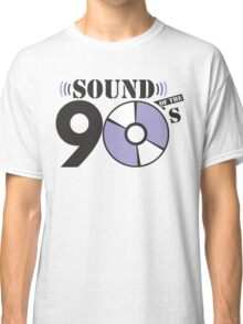Sound of the 90s purple logo Classic T-Shirt